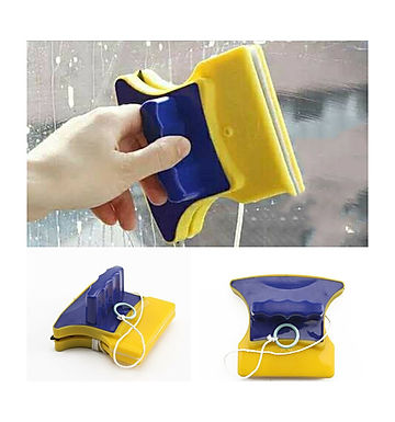 Magnetic Double Side Glass Cleaner Wiper & Window Cleaner