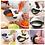 Thumbnail: Kitchen Rotating Vegetable Fruits Cutter Shredder Grater Drain Basket Bowl