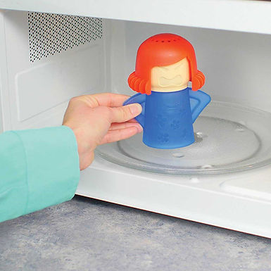 Angry-Mama Microwave Oven Steam Cleaner
