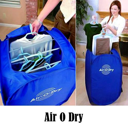 Mini Air O Dry Portable Electric Foldable Clothes Dryer Machine Bag