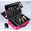 Thumbnail: Professional Large Storage Makeup and Cosmetic Organizer Travelling Suitcase Bag