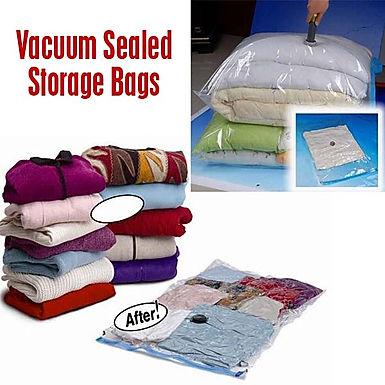 Jumbo Space Saver Saving Vacuum Seal Storage Bags - 3 Sizes