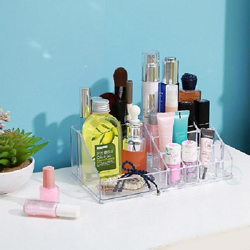 Acrylic Cosmetic Makeup and Jewellery Accessories Storage Organizer 8 x 3 inches