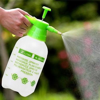 2 L Plastic Pressure Pump Portable Flower Spray Kettle Gardening Sprayer