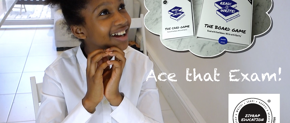 READ!&WRITE The Board Game - ACE THAT EXAM!