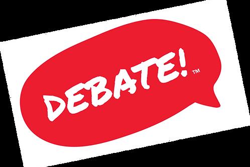 10 Week Debate Club - Extraordinary Debate for ages 7-12