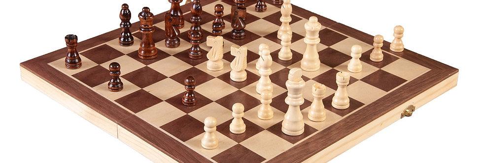 Wood Travel Chess