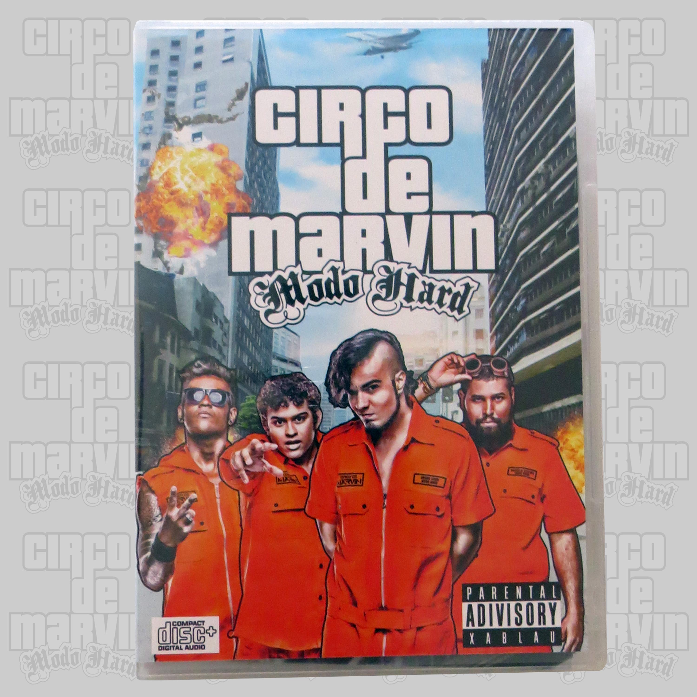 Modo Hard - CD - Circo de Marvin
