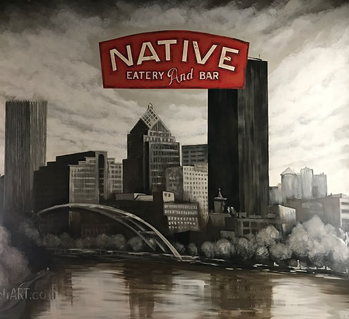 Native Mural by StaunchArt.com