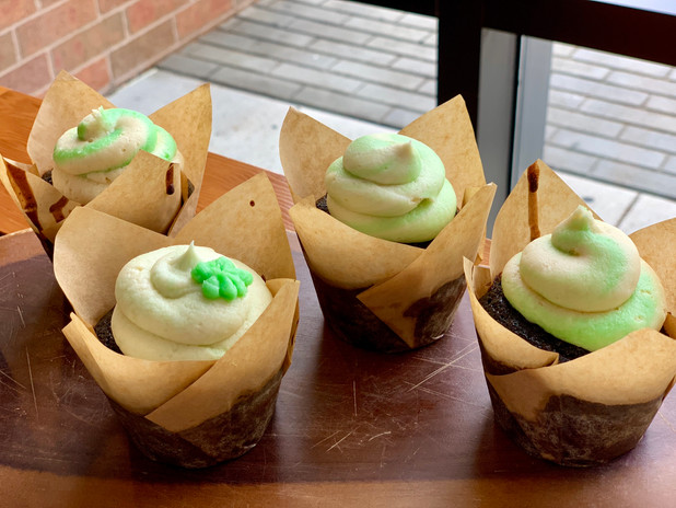 St Patrick's Day Stout Cupckaes