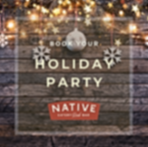 Native Holiday Party