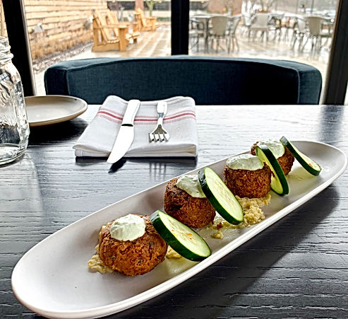 Falafel for 2 | Native Spring Menu