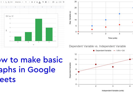 How to make basic graphs on Google Sheets
