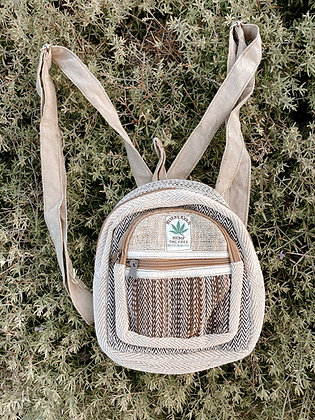 Petite Hemp Backpack