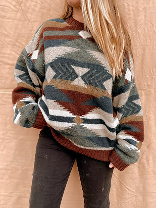 100% Wool Sweater  XL