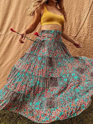 Ember Patch Skirt