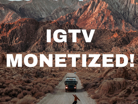 IGTV IS monetized! Here's the facts: