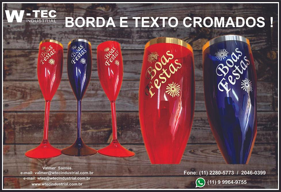 COPO LONG DRINK DECORADO COM LETRAS E BORDAS EM GRAVAÇÃO POR HOT STAMPING