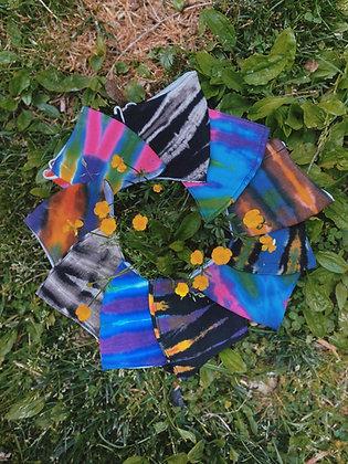 Tie Dye Mask 4 pack