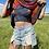Thumbnail: Honey 2-Way Flowy Tie Dye Crop Tank Top