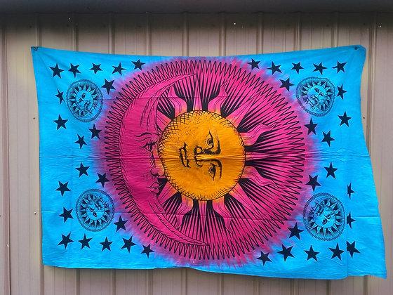 Sun & Moon Glory Tapestry