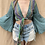 Thumbnail: Recycled Silk Sari Butterfly Top