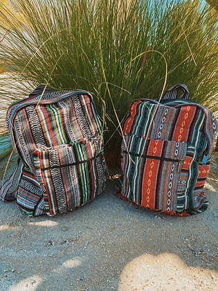 Hand Crafted Soft Back Pack