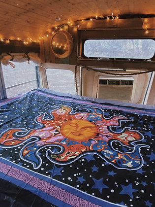 Dreaming Sun Tapestry