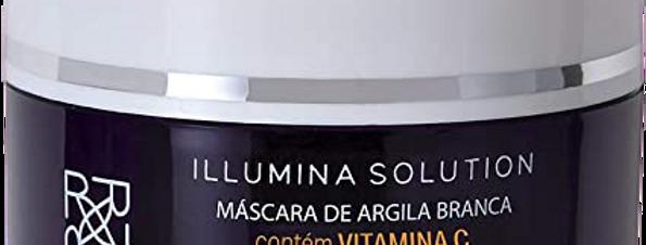 MASCARA FACIAL CLAREADORA - ARGILA BRANCA 60G