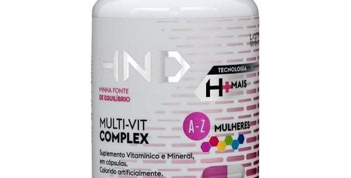 MULT-VIT COMPLEX A-Z MULHERES 60 CÁPSULAS