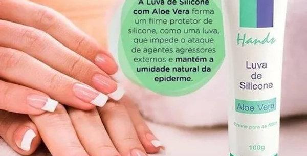LUVA DE SILICONE - ALOE VERA 100G
