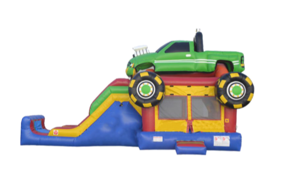 Monster Truck Jump & Slide