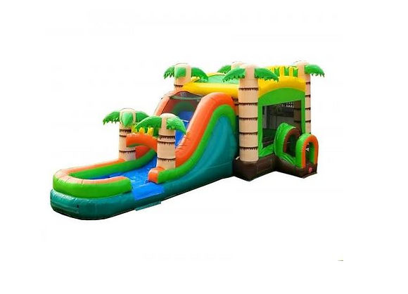 Coastal Jump and Slide