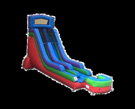 Retro Rainbow Slide