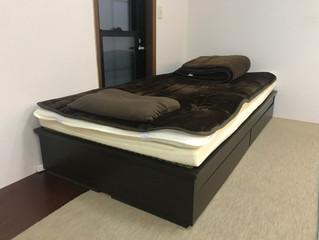 起き上がりのツラい方向けに『畳ベッド』導入しました。