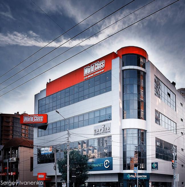 Фотосъемка здания в Ростове