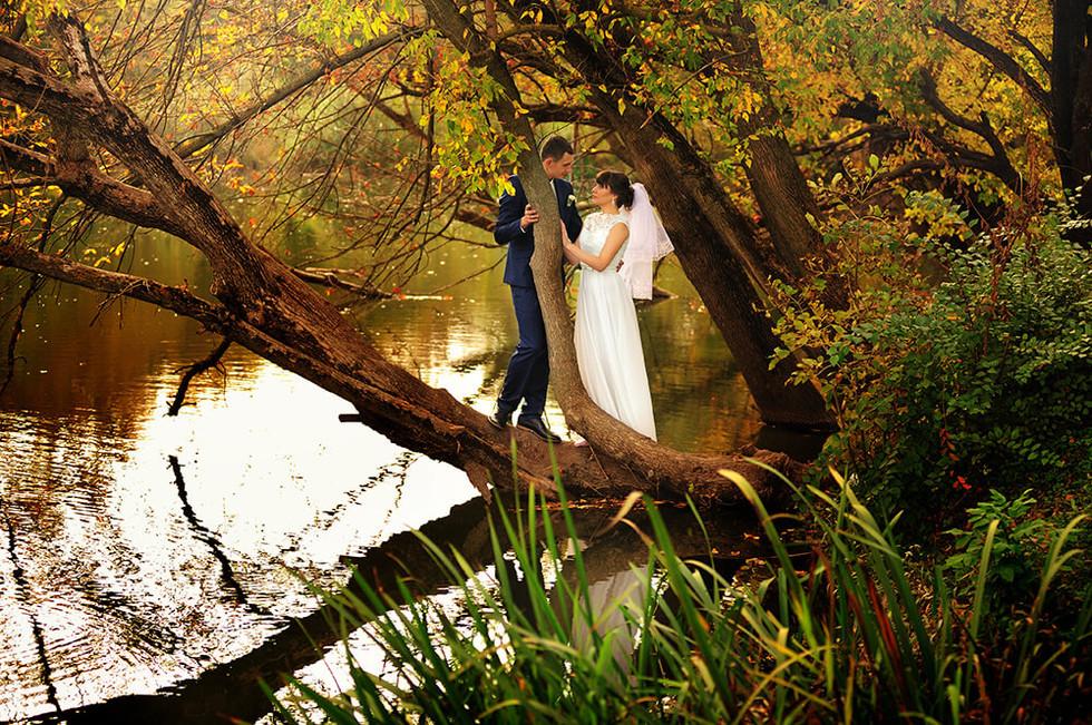 Свадебная фотосессия на природе Ростов