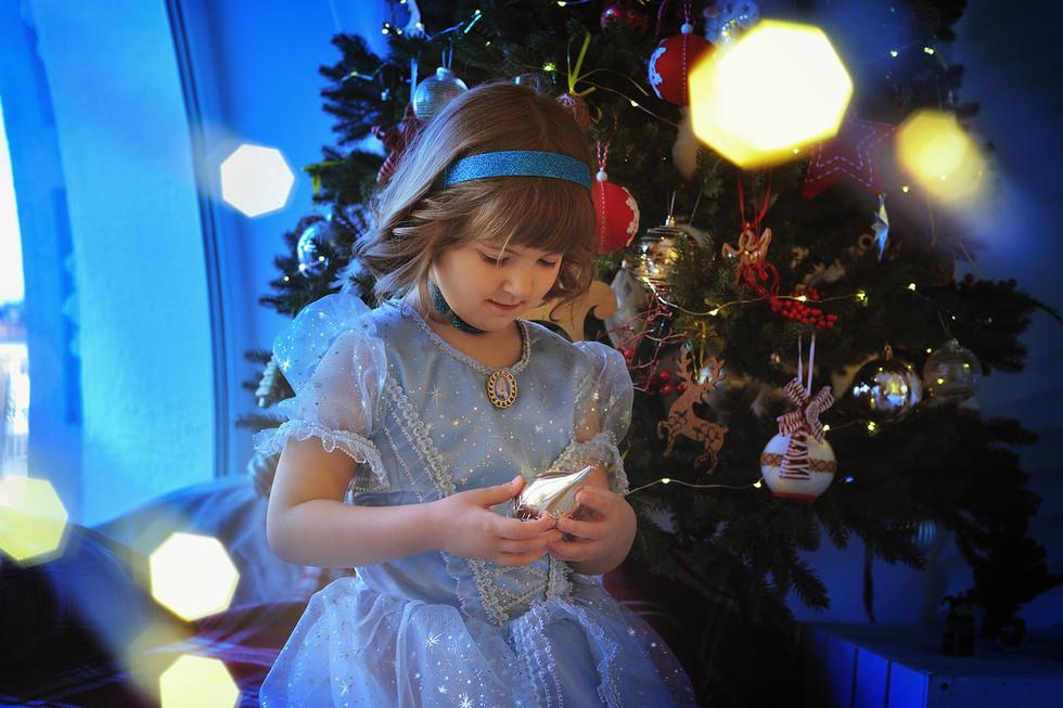 Новогодняя фотосессия в Ростове