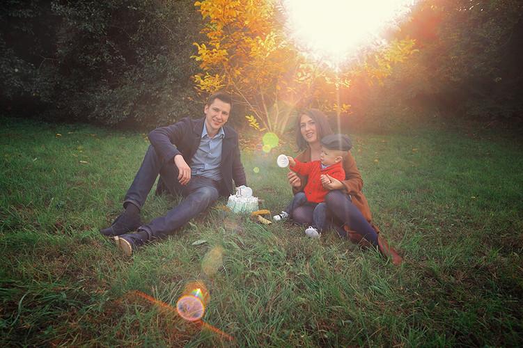 Семейная фотосессиия в парке