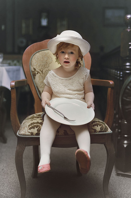 Винтажное детское фото