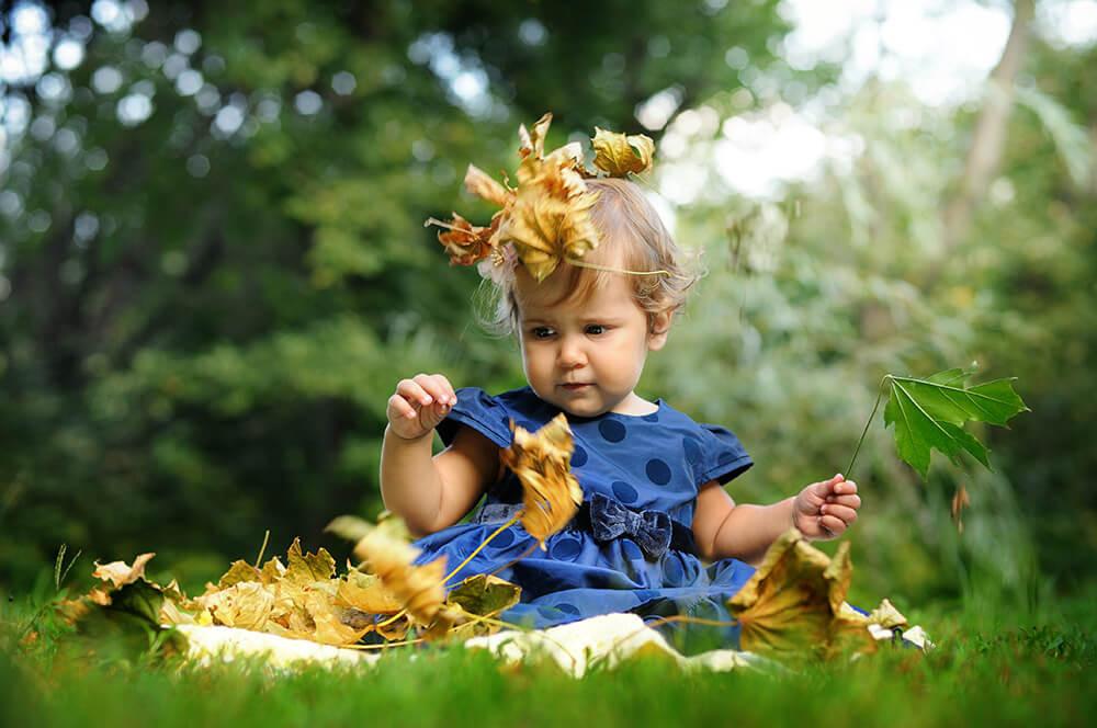 Фотосессиия для детей на природе