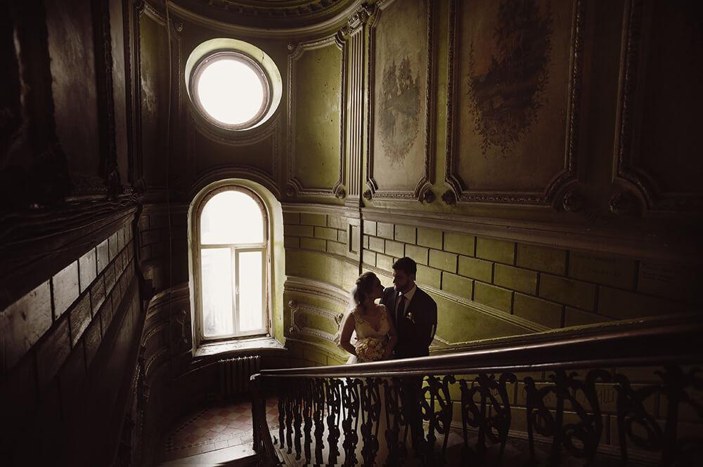 Винтажная свадебная фотосессия