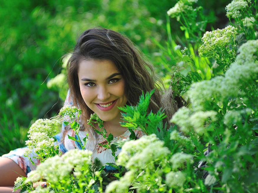 Весенняя фотосессия на природе, Ростов
