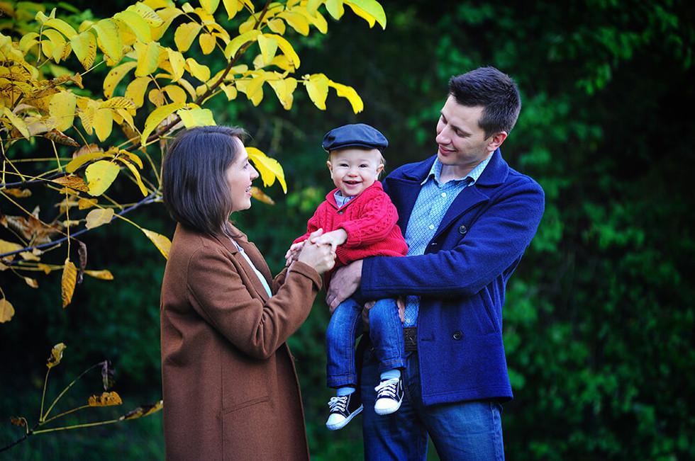 Семейное фото на природе