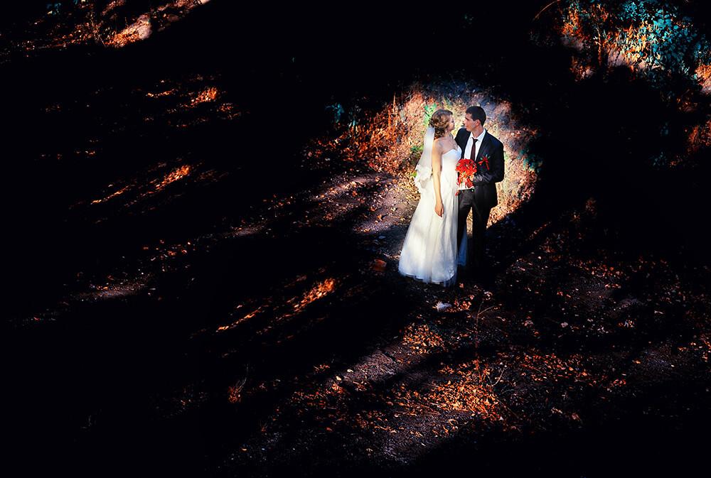 Жених и невеста свадебное фото Ростов