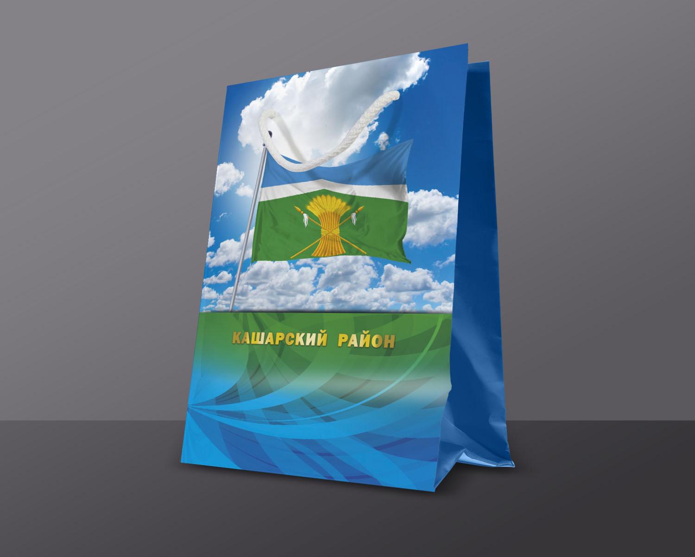 Пакет бумажный ламинированный