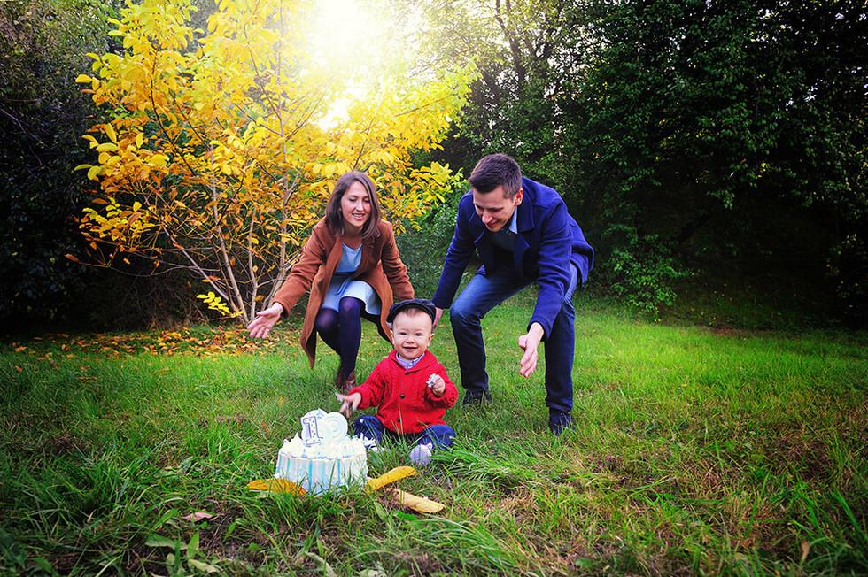 Выездная семейная фотосессиия