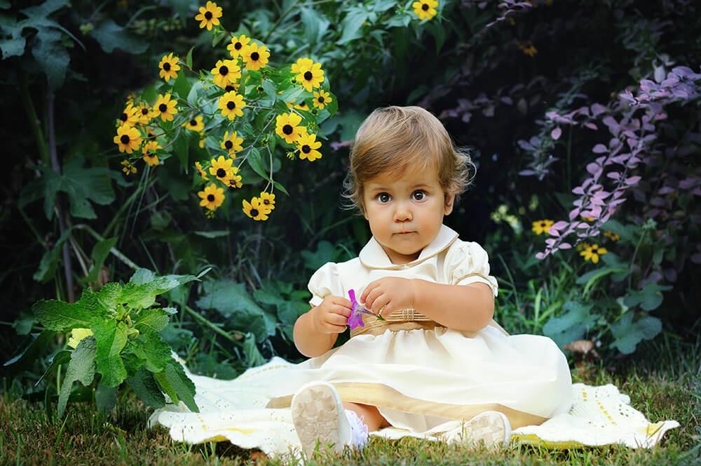 Фотосессии для детей летом