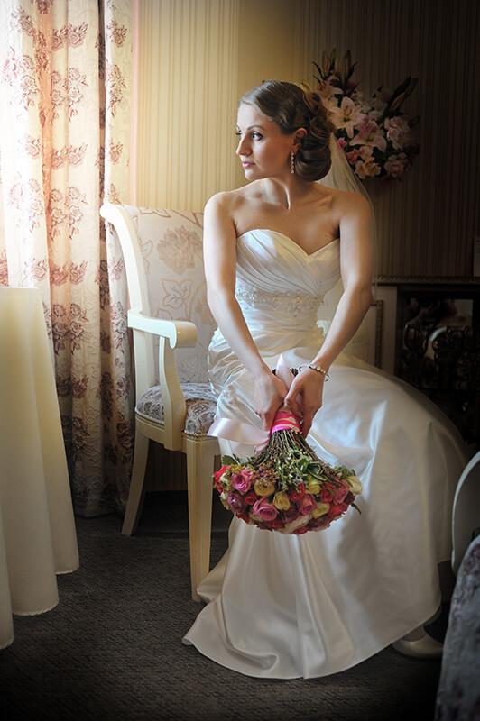 Фотосессия сборов невесты Ростов