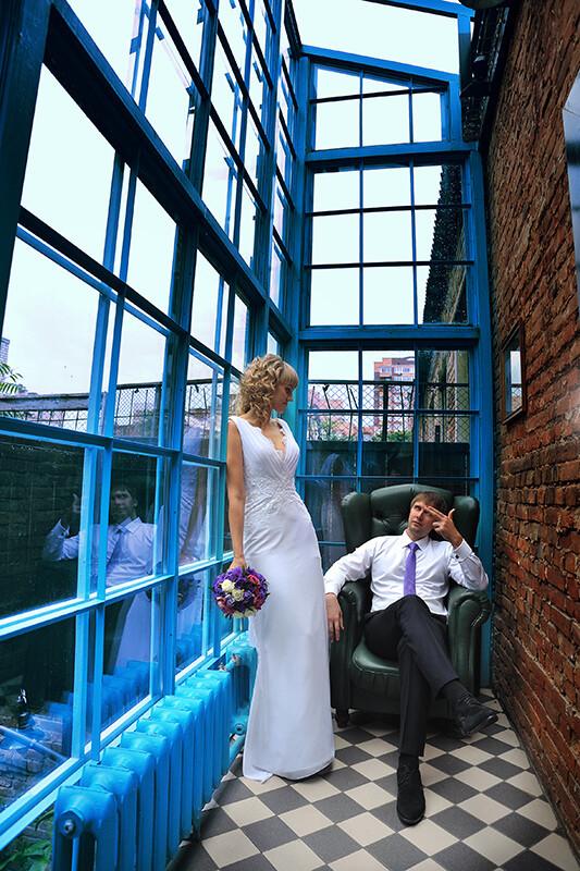Фотосъемка свадьбы в помещении